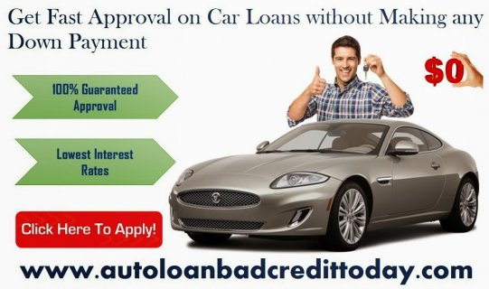 Car Loan For Bad Credit With