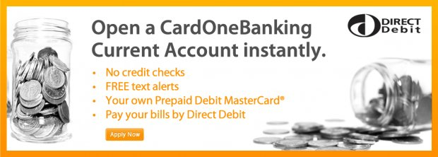 Open a CardOneBanking current