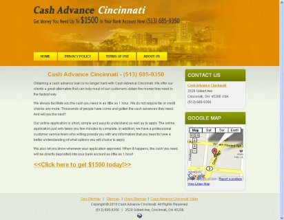 Cash Advance Cincinnati-