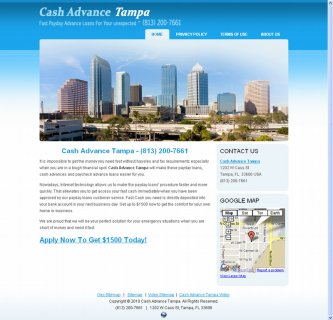 Cash Advance Tampa