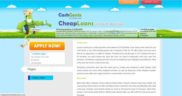 Cheap Loans Instant Decision