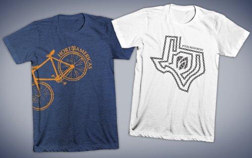 Hort Americas bike t-shirts