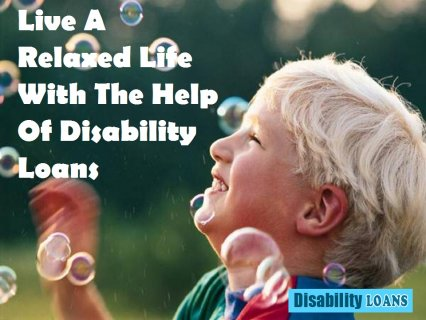 Disability Loans