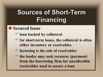 F for short-term loans
