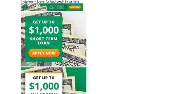 Installment loans for bad