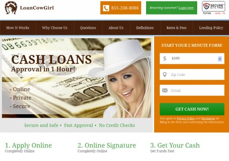Loan Cow Girl.com Equal A