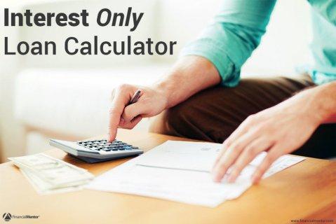 Interest only loan calculator