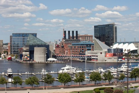 During their Baltimore