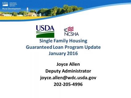 Guaranteed Loan Program