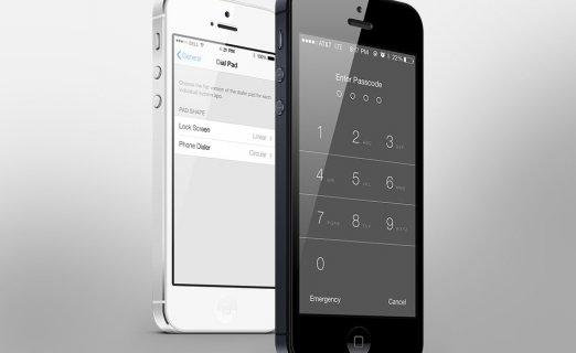 IOS 7 Dialer Concept
