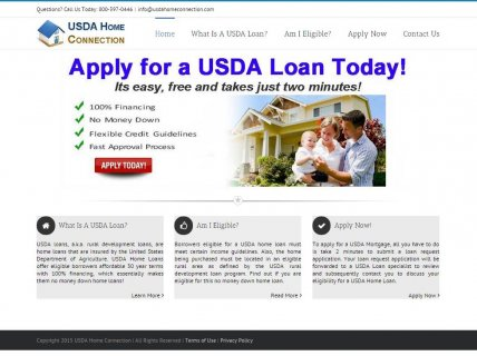 USDA New Home Loans: