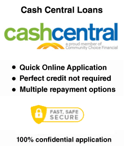 Cash Central Payday Loan
