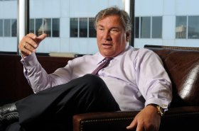 CEO John Schiller at the Energy XXI offices in Houston on Sept. 19, 2012. (Dave Rossman/For the Chronicle)