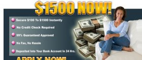 guaranteed cash advance