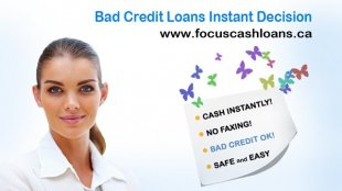 Instant Loan Decisions Online Bad Credit