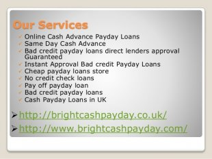 No Verification Payday Loans Direct Lenders