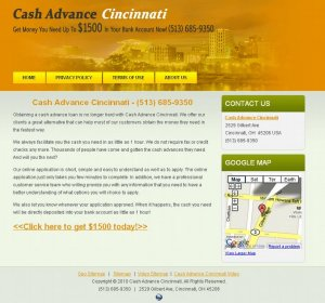 Cash Advance Cincinnati