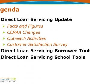 Direct Loan Servicing