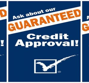 Guaranteed credit Approval