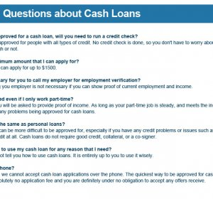 Quick Cash Loans online Bad credit