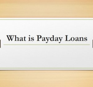 What is payday loans?