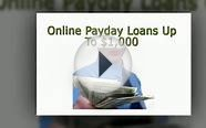 100 day loans with no credit check
