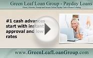 #1 Cash Advances Start with Instant Approval and Low Rates