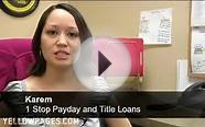 1 Stop Check Cashing Pay Day and Title Loans Phoenix