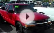 2003 Chevy S10 Extended Cab, No Credit Check, Must see