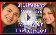 3 Different Ways To Make Money Online