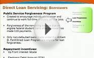 3. Direct Loan Servicing