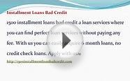 1500 Bad Credit Installment Loans- 6 Month Loans No Credit