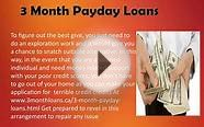 90 Day Installment Loans- Avail Cash For Your Mid Month Needs