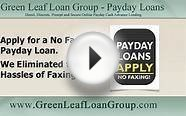 Apply for a No Fax Payday Loan—No Wasted Paper and No