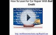 Auto Repair Loan No Credit Check Financing In Houston Texas