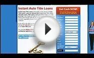 Auto Title Loans Online Made Easy!