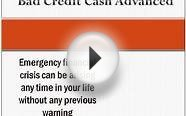 Bad Credit Cash Advanced- Finances Arranged Instantly