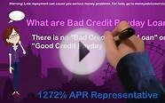 Bad credit payday loans?