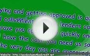Bad Credit Payday or Cash Advance Loans