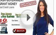 Bad Credit Personal Loans Cash Government Grants Money