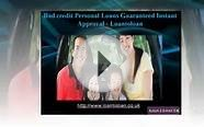 Bad credit Personal Loans Guaranteed Instant Approval