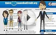 Bad Credit Personal Loans - Video Guide