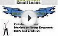 Bad Credit Small Loans- Get Small Loans despite Your Bad