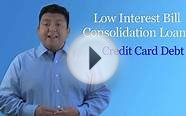 Bills.com | Low Interest Consolidation Loans