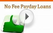 Borrow Quick And Friendly Money With No Fee Payday Loans