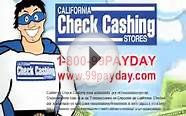California Check Cashing Stores Car Trouble Commercial