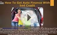 Car Loan Companies For People With Bad Credit - Bad Credit