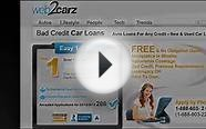 Car Loan with Bad Credit - Instant Car Loan Online!