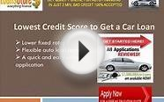 Car Loan with Low Credit Score