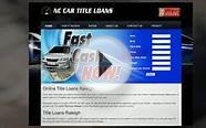 Car Title Loans Winston Salem Greensboro and Raleigh NC